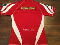 Classic Rugby Shirts   2008 Scarlets Vintage Old Jerseys
